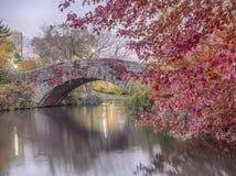 Bow bridge Central Park Stock Photos
