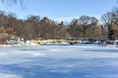 Bow Bridge - Central Park, New York Royalty Free Stock Photography