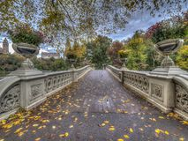 Bow bridge,Central Park, New York Cit royalty free stock photos
