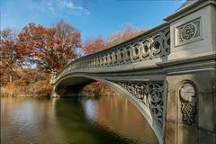 Bow bridge Stock Photography