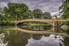 Bow bridge Central Park, New York City Stock Photography