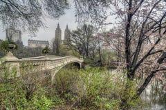 Bow bridge Central Park, New York City Stock Photography