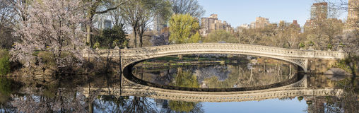 Bow bridge Central Park, New York City Royalty Free Stock Photography