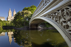 Bow Bridge in Central Park, New York Stock Photography