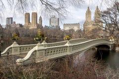 Bow Bridge Royalty Free Stock Image
