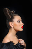 Bow coiffure Stock Photos