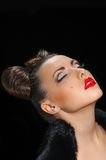 Bow coiffure Royalty Free Stock Image