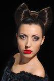 Bow coiffure Stock Photo
