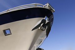 Bow of cruise ship Royalty Free Stock Photos