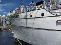 Bow of the Cuauhtemoc Royalty Free Stock Photography