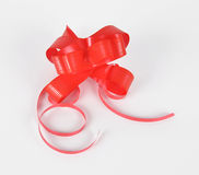 Bow for the decoration of gifts Royalty Free Stock Image