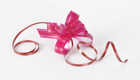 Bow for the decoration of gifts Stock Images