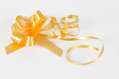 Bow for the decoration of gifts Royalty Free Stock Images