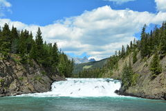 Bow Falls Stock Photography