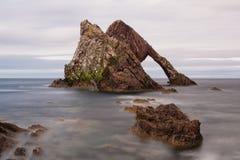 Bow fiddle rock. Scotkand Stock Photo
