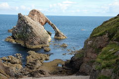 Bow Fiddle Rock Scotland Royalty Free Stock Photography