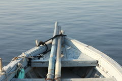 Bow of fishing boat Stock Image