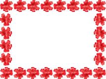 Bow frame royalty free stock photo