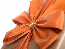 Bow on gift Stock Photos