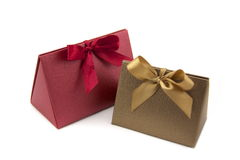 Bow Gift Box Stock Image