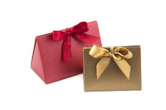 Bow Gift Box Stock Photography
