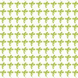 Bow gift card or cloth,npattern, repeating pattern, Stock Photography