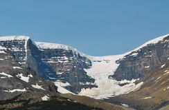 Bow Glacier, Banff, Canada. This is one of the many spectacular views of the Rockies and glaciers to be seen around Banff Royalty Free Stock Photos