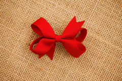 Bow hair accessories Royalty Free Stock Image
