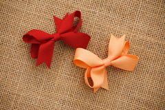 Bow hair accessories Stock Image
