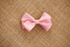 Bow hair accessories Royalty Free Stock Images