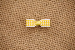 Bow hair accessories Royalty Free Stock Photography