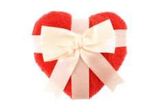 Bow and Heart Royalty Free Stock Image