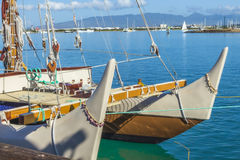 Bow of the Hokulea 2 royalty free stock image