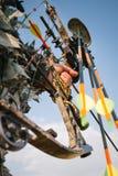 Bow hunter Stock Photo