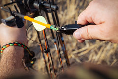 Bow hunter Royalty Free Stock Photo