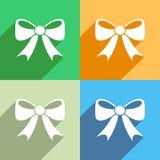 Bow icon Stock Photos