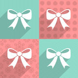 Bow icon Stock Photos