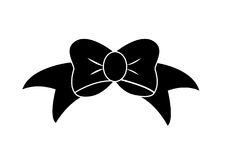 Bow icon Stock Images