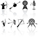 Bow icons Stock Image