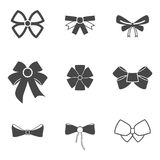 Bow icons Royalty Free Stock Photos