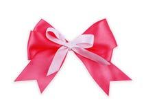 bow isolerad röd white Arkivbild