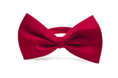 bow isolerad tie Arkivfoto
