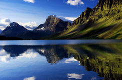 Free Bow Lake Royalty Free Stock Photography - 10152107
