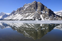 Bow lake. Royalty Free Stock Photo