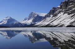 Bow lake. Stock Photography