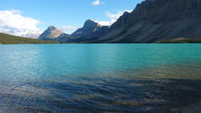 Bow Lake in Banff, Alberta, Canada royalty free stock photography