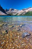Bow Lake Banff National Park Stock Images