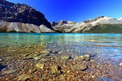 Bow Lake Banff National Park Stock Photography