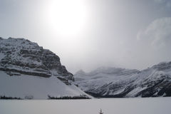 Bow lake Royalty Free Stock Images