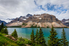 Bow Lake- Banff National Park- Alberta- CA Stock Images